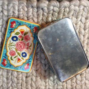 Vintage Storage & Organization - Colorful Vintage Jewelry Tin